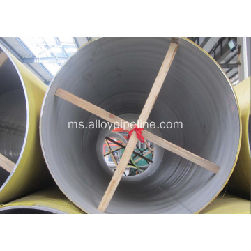 Kimpalan Austenitic Stainless Steel Pipe A312 TP304L TP316L