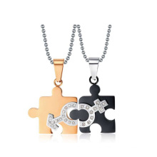 Top selling male and female symbol pendant,love symbol pendant,lover pendant jewelry