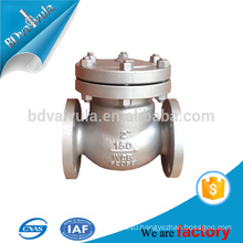 Bolted Bonnet API 6D 600 Flanged Stainless Steel Check Valve