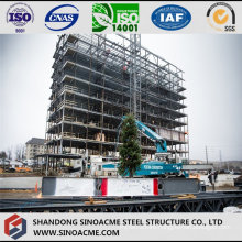 Fast Construction Residential Building Made of Steel Structure