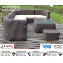2015 luxury garden modern furniture sofa