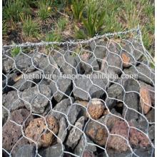 Coût de la pierre de gabion de clôture de fil de boîte de panier de gabion