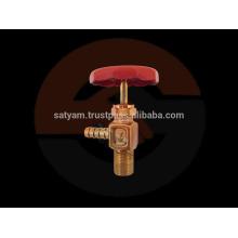 Válvula de boquilla de latón tipo F