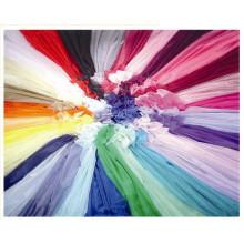 Glass Organza, Matt Organza Fabric in Multicolors, Marriage Gauze Cloth.
