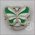 Anillo colgante de bolsa, colgante malo de mariposa con diamantes (GZHY-BHR-001)