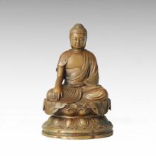 Estatua de Buda Bodhisattva Avalokitesvara Escultura de bronce Tpfx-B134 / B136 / B137