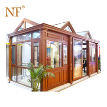 customized size and color aluminium conservatory