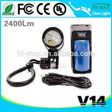Heißer Verkauf Tauchen Sie Video-Licht-Reihe Unterwasser-Taschenlampe