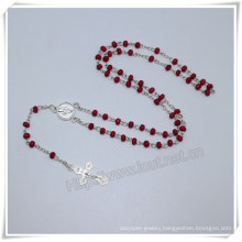 Catholic Small Wooden Beads Rosaries with Cross and Packing Box (IO-cr392)