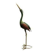Rough Metal Crane Animal Home and Garden Decoration