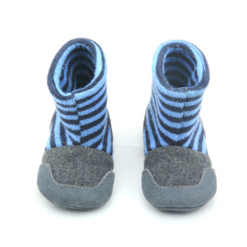 Stripe Sock Booties Baby Winter Boots