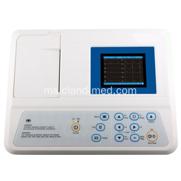 3-Channel Electrocardiograph Medical Hospital (ECG)