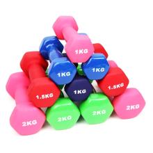 Gym Fitness Hex Stainless Steel High Chromed Dumbbell