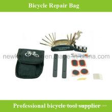 Kit de ferramentas de bicicleta personalizado de alta qualidade com saco