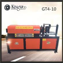 Machine de découpe à défilement automatique de bobines d'acier GT4-10