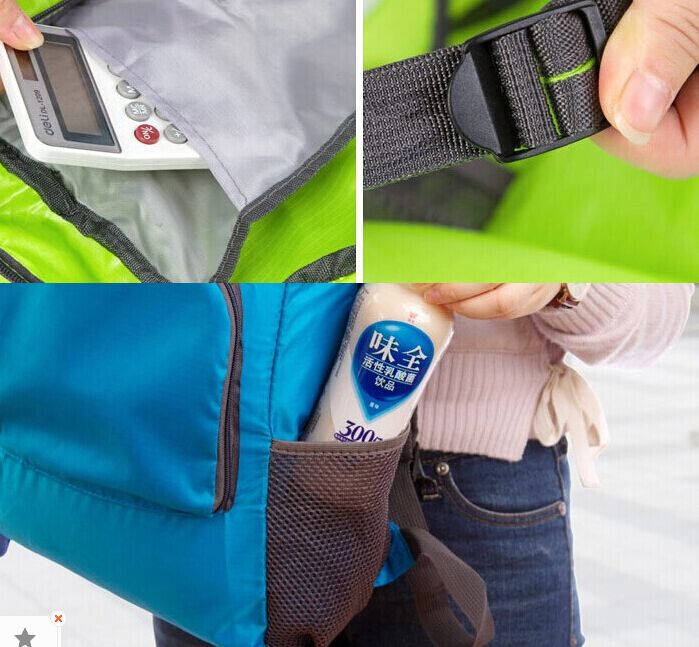 Foldable Backpack Bag