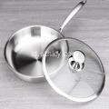 Stainless Steel Honeycomb tipe Pan non-stick