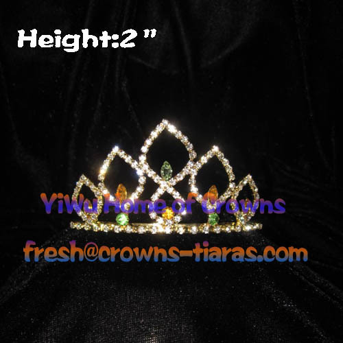 Großhandel Crystal Princess Tiaras Pageant Tiaras