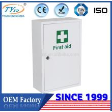 Gabinete de almacenamiento de primeros auxilios de metal de fabricación OEM fábrica