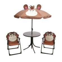 outdoor kid beach cartoon table and chairs