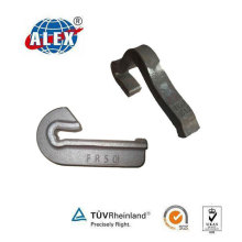 Rail Anchor for Fixing Rail Onto Wooden or Concrete Sleepers