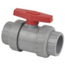 Vanne à bille CPVC True Union, valve à bille double union