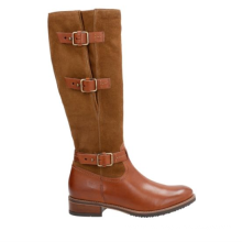 Comfortable design genuine leather classic women's riding boot