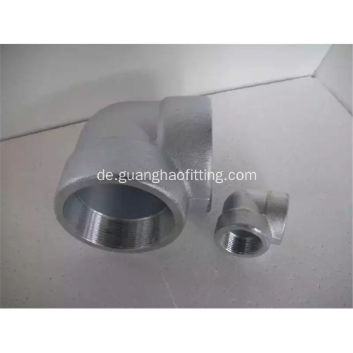 Nickellegierungen ANSI / ASME B16.11 SOCKET WELD 90DEGREE ELBOW