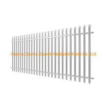 China Wholesale Galvanized Steel Palisade Fencing for Sale