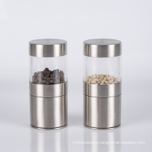 Stainless steel kitchen condiments manual grinding