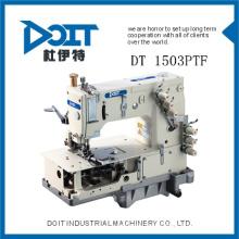 DT 1503PTF de alta velocidad y calidad precio barato dobladillo y acolchado costura doble cadena de la máquina