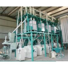 50 T / D Weizenmehl Fräsmaschine, Weizenmehl Fräserei, Weizenmehl Fabrik