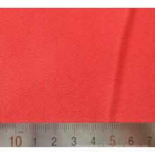 Tissus en sergé de coton Polyester rouge T/C
