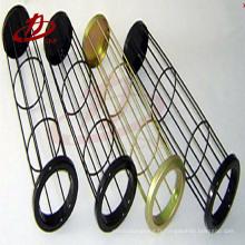 Cage de sac de filtre d'acier inoxydable de résistance à la corrosion de solides solubles