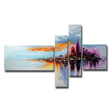 Decoração da parede da alta qualidade Pintura a óleo da paisagem