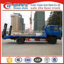 dongfeng 1-10T price of flatbed tow truck