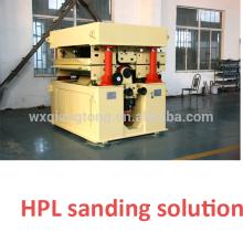 Sanding machine for HPL/ thickness sanding HPL