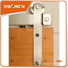 Larga vida útil del mercado granero puerta de madera corredera de hardware