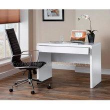 Mesa de informática de brilho branco (HF-D009)