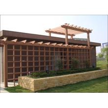 2014 Pergola Pavilion à l'extérieur WPC de haute qualité
