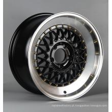 TAMANHO: 2017 novo design W002 aro da roda pós-venda, roda dianteira 18 * 9 roda traseira 18 * 10