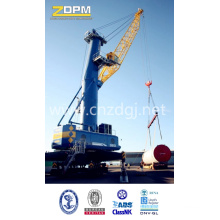"""Dual-Power"" Hydraulic Wheeled Telescopic Boom Grabbing Crane"