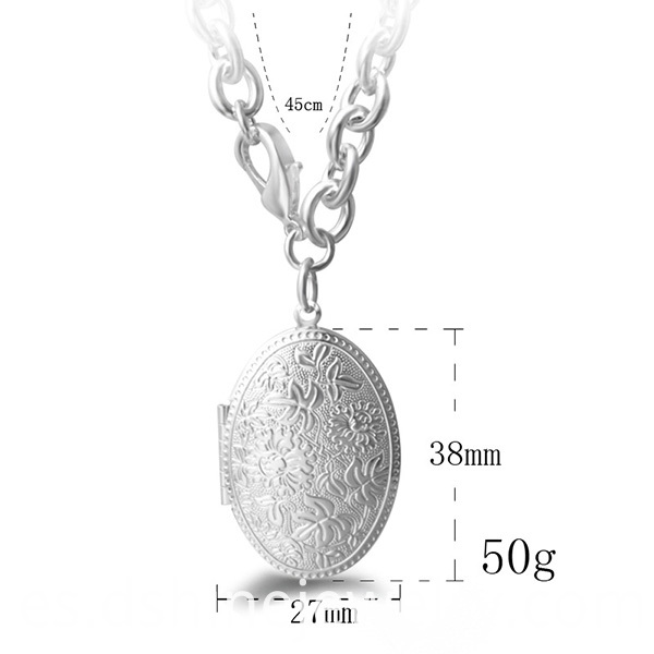 Egg Pendant Chain Necklace