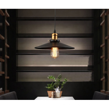 Loft lamp vintage industrial classical metal lampshade pendant lamp for dining room