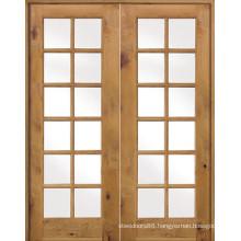 Double Glass Door Frech Patio Extry Doors
