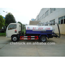 DFAC 3000L to 4000L mini fecing suction truck for sale