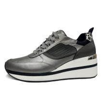Chaussures de sport confortables à tête ronde pour femmes, surface nette