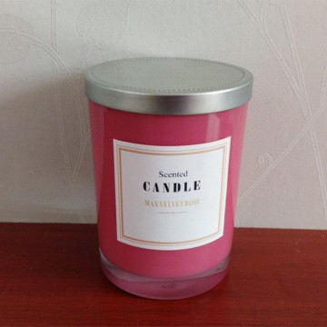 Glass Cup Scented Candle for Sale