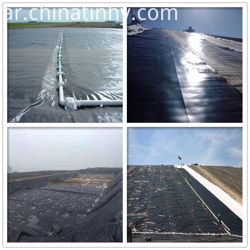 20mils HDPE Waterproof Geomembranes Liner
