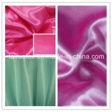 100% Polyester Satin Günstigstes für Kleid Kleidungsstück Stoff